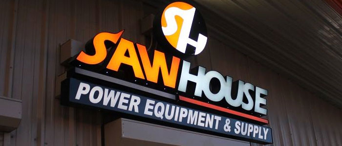 Sawhouse sign